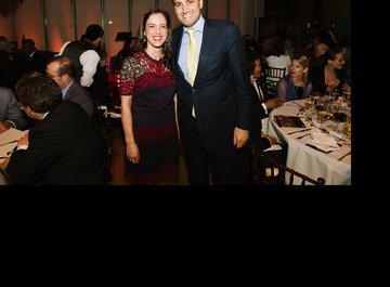Valentina Rota (Executive Director Foundation Friends of LUCERNE FESTIVAL and Director of Development American Friends of LUCERNE FESTIVAL) and Deepak Soni (CEO Vontobel Swiss Wealth Advisors AG Inc.)