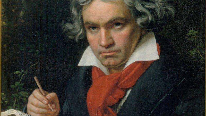 Anton Bruckner, Gemälde von Hermann von Kaulbach