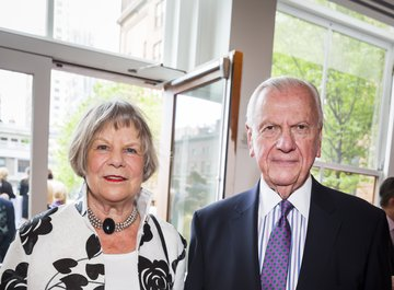 Mr. Klaus Jacobs, Vice Chairman of the Carnegie Hall, Treasurer and Secretary of the American Friends of LUCERNE FESTIVAL and his wife Mrs. Karin Jacobs