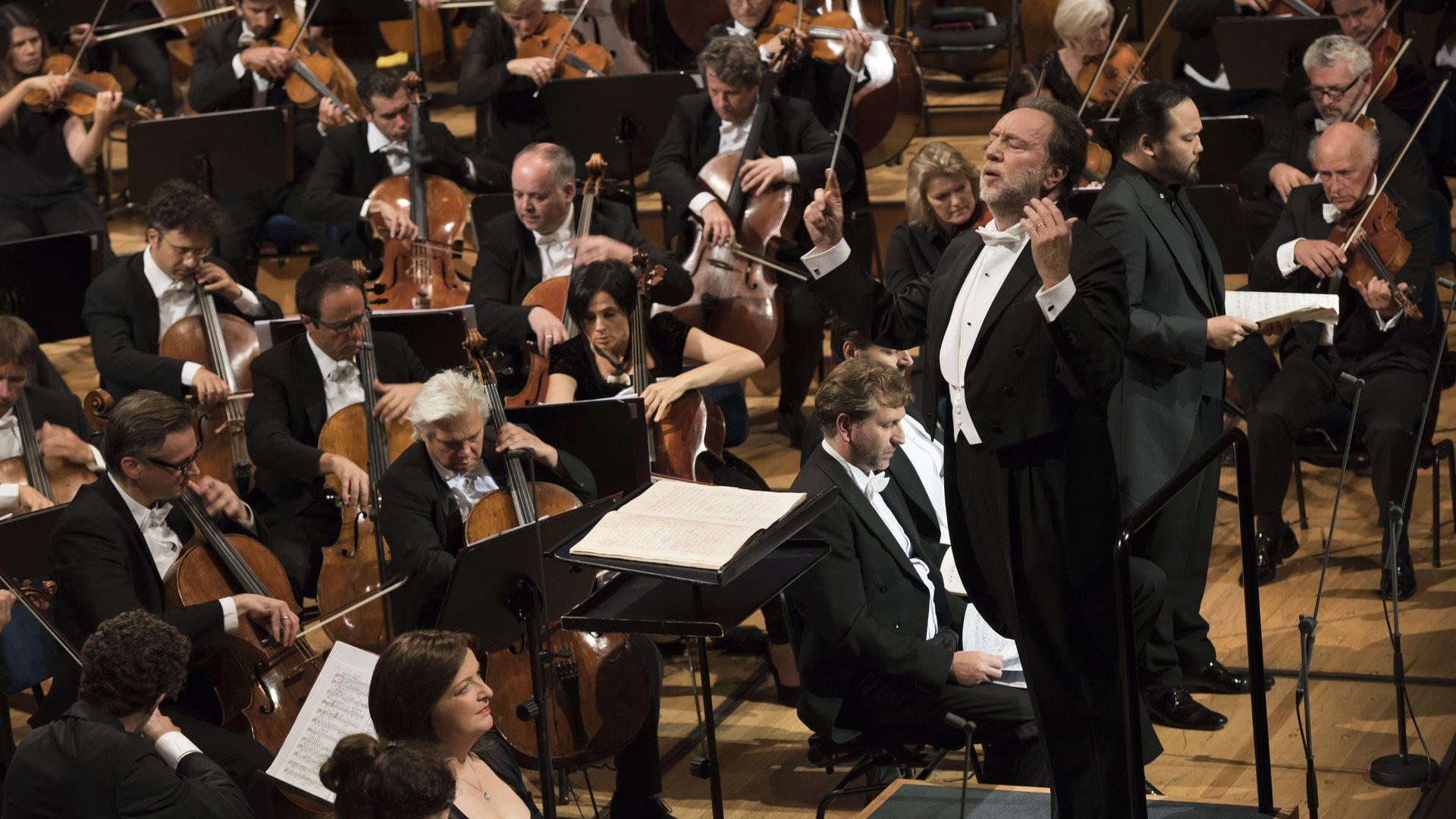 Riccardo Chailly | LUCERNE FESTIVAL ORCHESTRA © Priska Ketterer