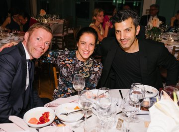 Joachim Mildner, Valentina Rota and Tigran Dzitoghtsyan -  © Fadi Kheir
