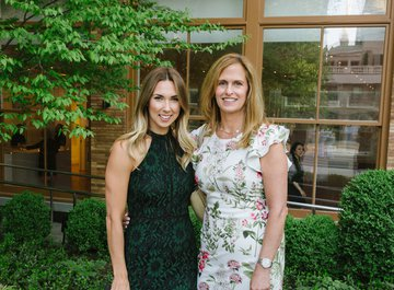 Emily Stoll (Carl F. Bucherer North America) and guest