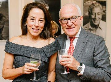 Albert Behler and his wife Robin Kramer - © Fadi Kheir