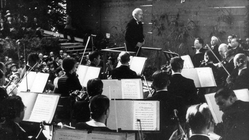 Arturo Toscanini © Jean Schneider/Archives LUCERNE FESTIVAL