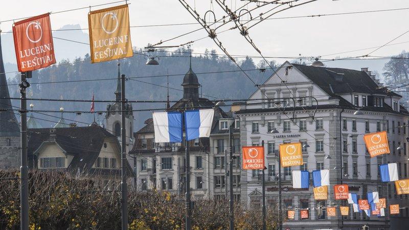Fahnen, Luzern © Priska Ketterer/LUCERNE FESTIVAL