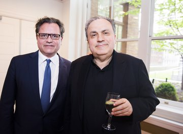 Mr. Michael Haefliger, Executive and Artistic Director of LUCERNE FESTIVAL | Mr. Yefim Bronfman, Pianist
