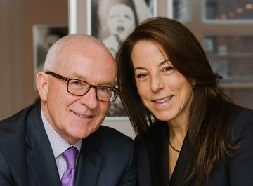Albert Behler (Chairman, CEO and President of the Paramount Group) and his wife Mrs. Robin Kramer
