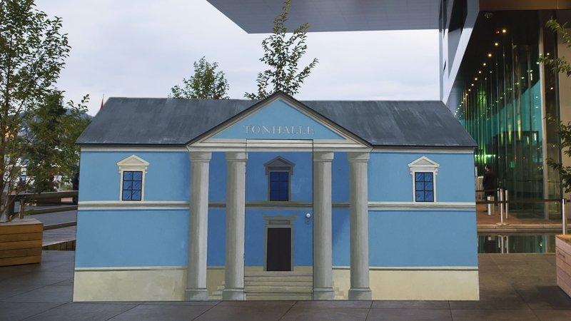 «Tonhalle (Luzern, Europaplatz 1b)»  © Fotomontage LUCERNE FESTIVAL