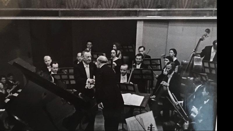 Sergej Rachmaninow und Ernest Ansermet