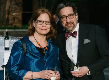 Eileen Delahunty and Jeff Spurgeon of WQXR
