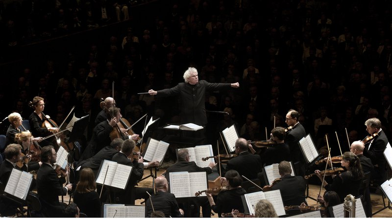 London Symphony Orchestra   Sir Simon Rattle © Peter Fischli/LUCERNE FESTIVAL