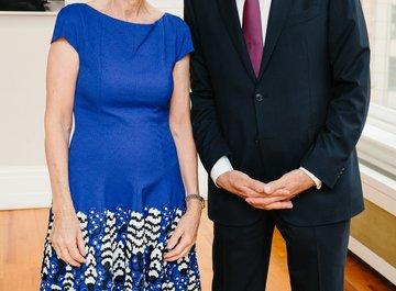 Christina Wettergren and Dr. iur. Hubert Achermann - © Fadi Kheir