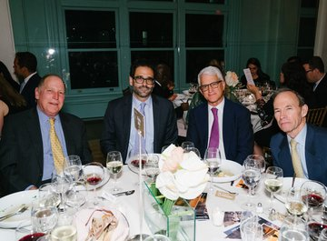 Alan B. Vickery, a guest, Tom Cerabino and Jim Capalino - © Fadi Kheir