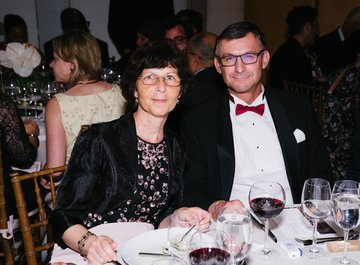 Swiss Ambassador Markus Börlin and his wife Corinna Börlin - © Fadi Kheir
